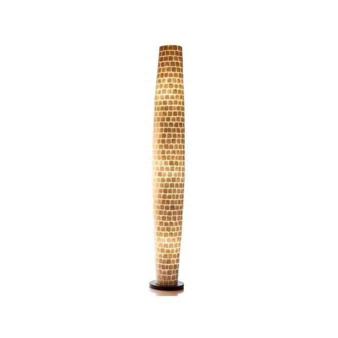 Schelpenlamp - Moni White - Apollo - 200 cm