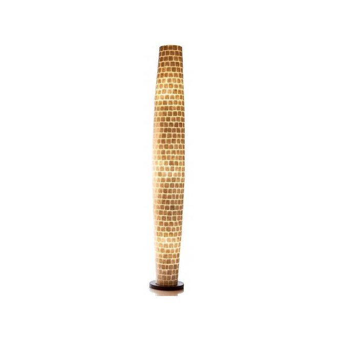Villaflor schelpenlamp - Moni White - vloerlamp, Apollo 200 cm
