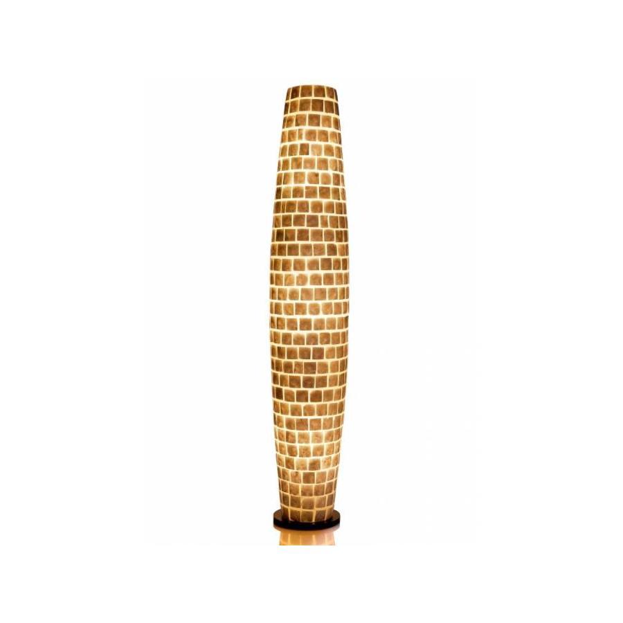 Villaflor Villaflor schelpenlamp - Moni White - vloerlamp, Apollo 150 cm