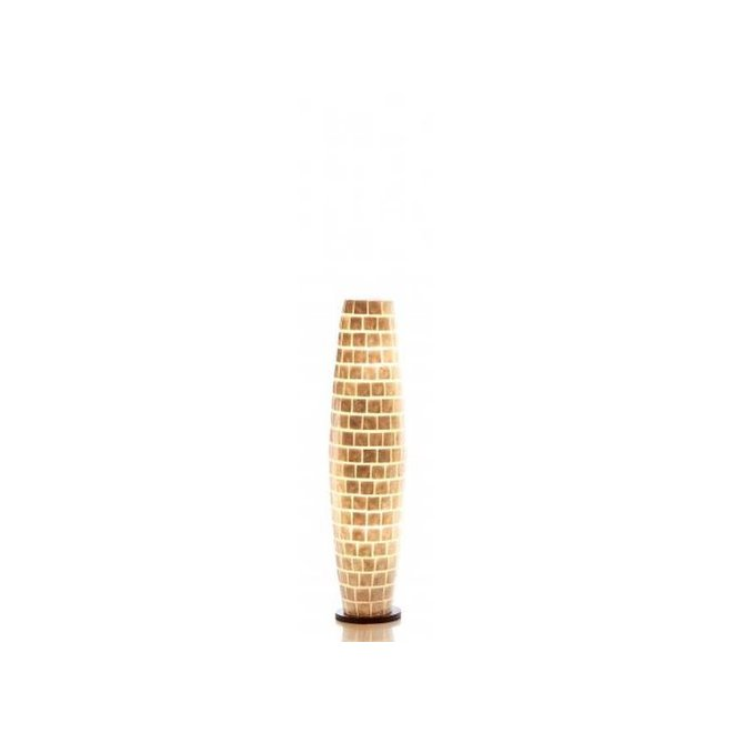 Schelpenlamp - Moni White - Apollo - 100 cm