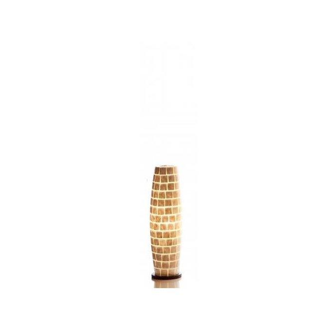 Villaflor schelpenlamp - Moni White - vloerlamp - Apollo - 70 cm