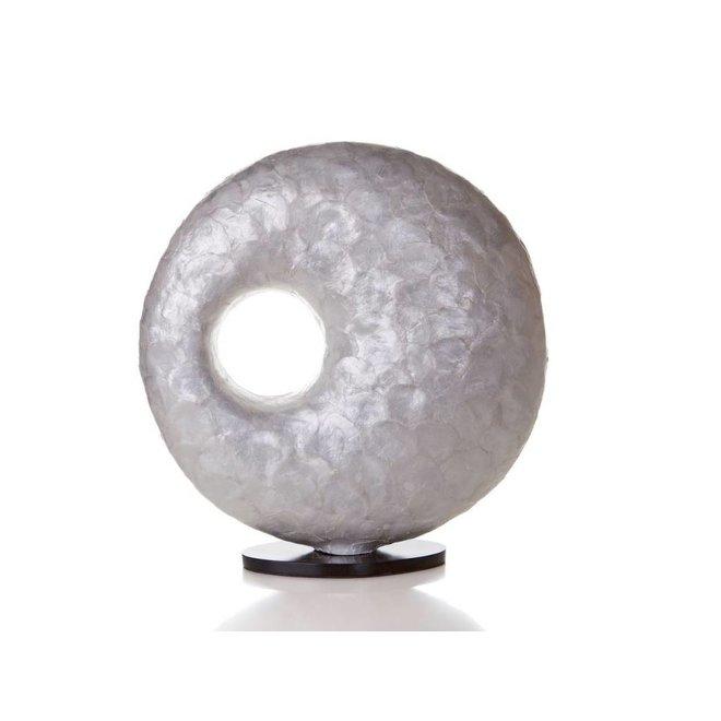 Villaflor schelpenlamp - Full Shell - tafellamp - Donut