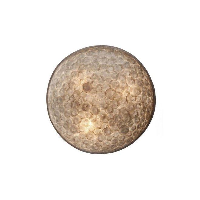 Villaflor schelpenlamp - Full Shell - wand- of plafondlamp - Moon Ø 40 cm