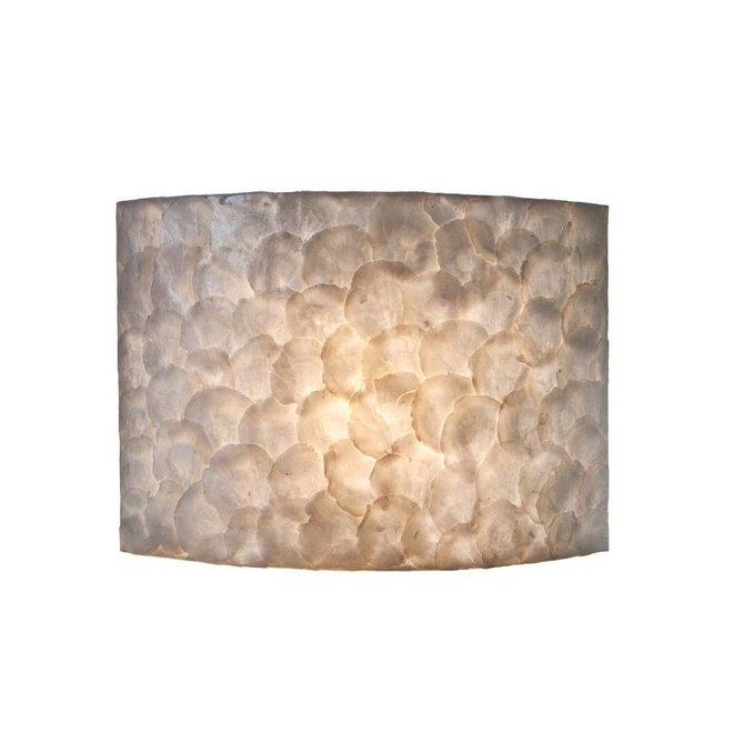 Villaflor schelpenlamp - Full Shell - wandlamp - Rectangle
