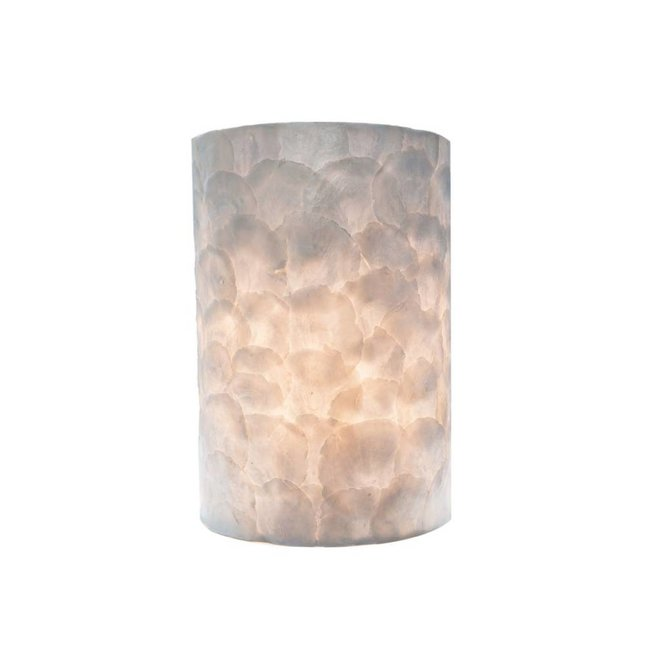 Villaflor schelpenlamp - Full Shell - wandlamp - Rectangle klein