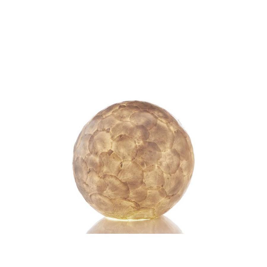 Villaflor Villaflor schelpenlamp - Full Shell - tafellamp - Staande Bol - Ø 30 cm