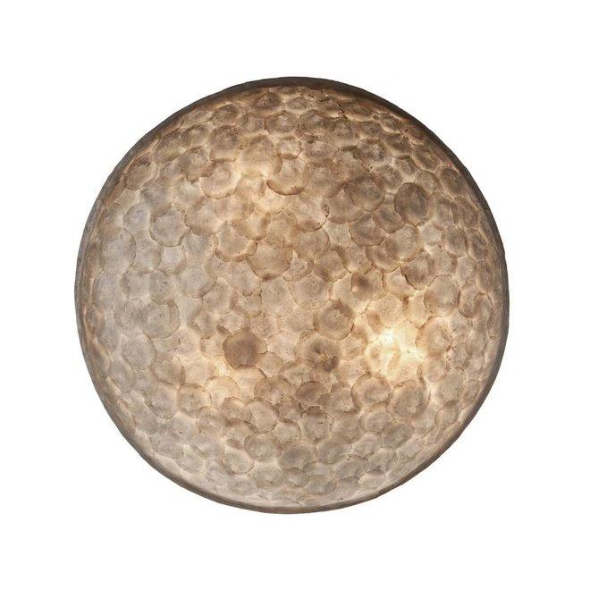 Villaflor schelpenlamp - Full Shell - wand- of plafondlamp - Moon Ø 85 cm