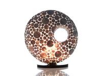 Villaflor Villaflor schelpenlamp - Coin Gold - tafellamp, Donut