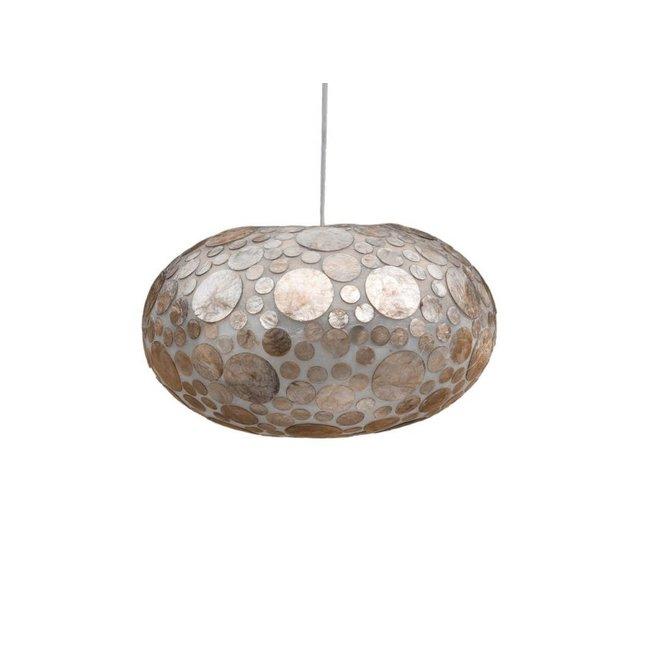Villaflor schelpenlamp - Coin Gold - hanglamp - UFO - Ø 40 cm