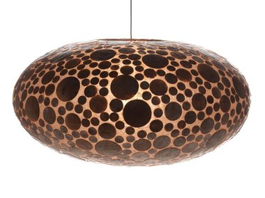 Villaflor Schelpenlamp - Coin Gold - Hangende UFO - Ø 60 cm