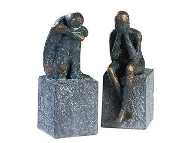Casablanca Figuren set 'Lonely' brons