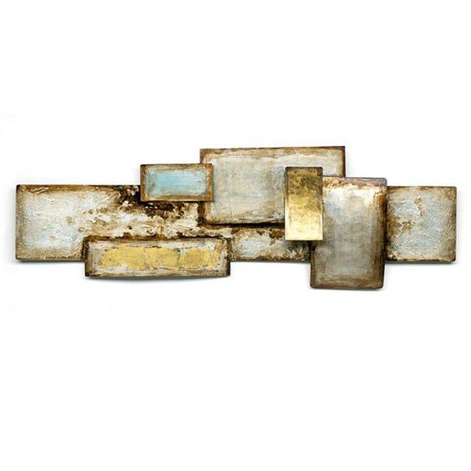 Wall Art Rimmed Rectangles 120x40