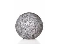 Villaflor Glass White - tafellamp - Staande bol - Ø 30 cm
