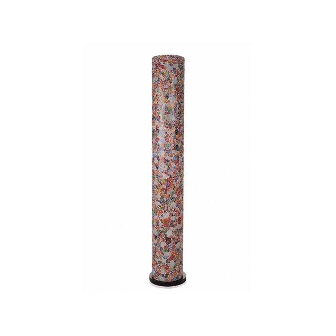 Glass Multicolor - vloerlamp - Cilinder - 200 cm