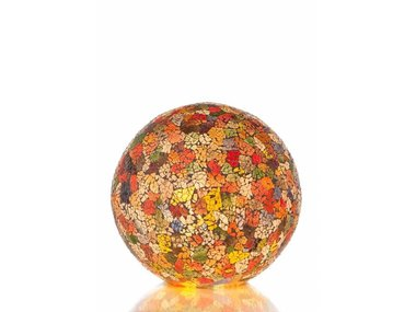 Villaflor Glass Multicolor - Staande bol - Ø 30 cm