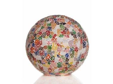 Villaflor Glass Multicolor - Staande bol - Ø 40 cm