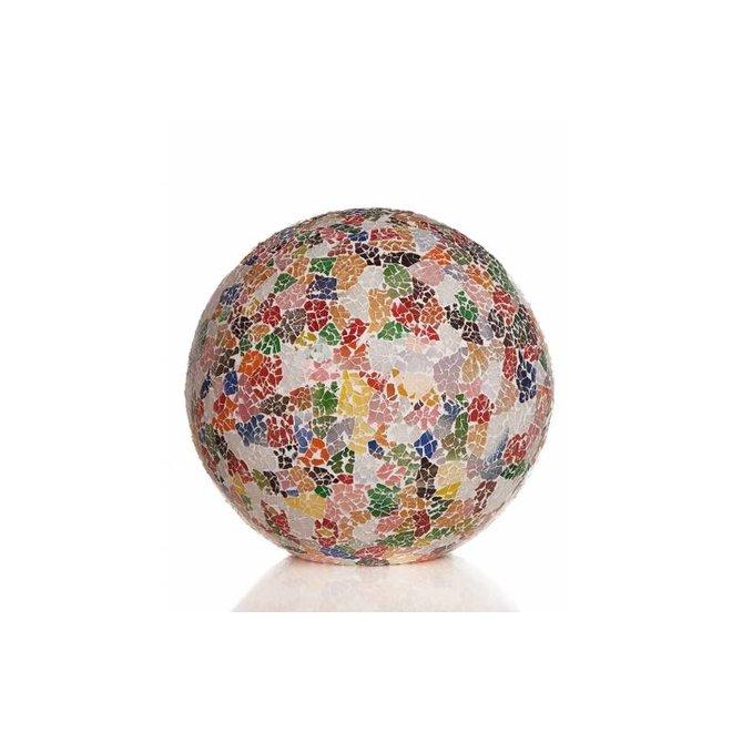 Glass Multicolor - tafellamp - Staande bol - Ø 40 cm