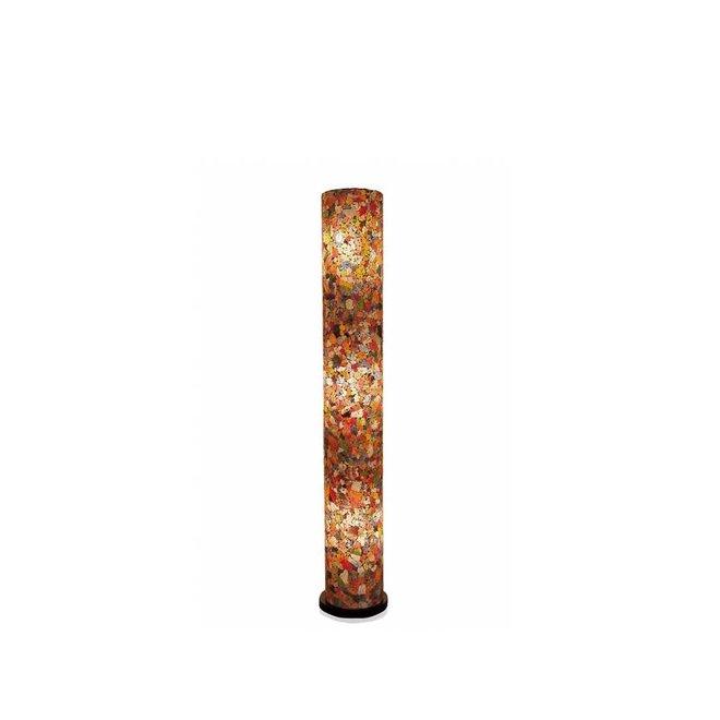 Glass Multicolor - vloerlamp - Cilinder - 150 cm