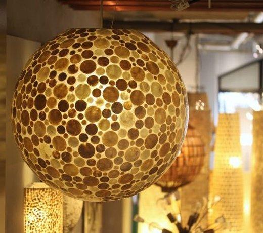 Hanglamp schelpen
