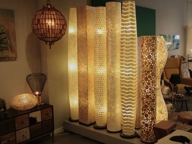 Schelpen-vloerlampen