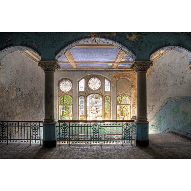 Acryl glas 'Stairwell' 80x120
