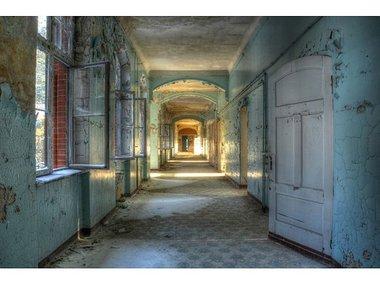 Image land Acryl glas 'Hallway' 80x120