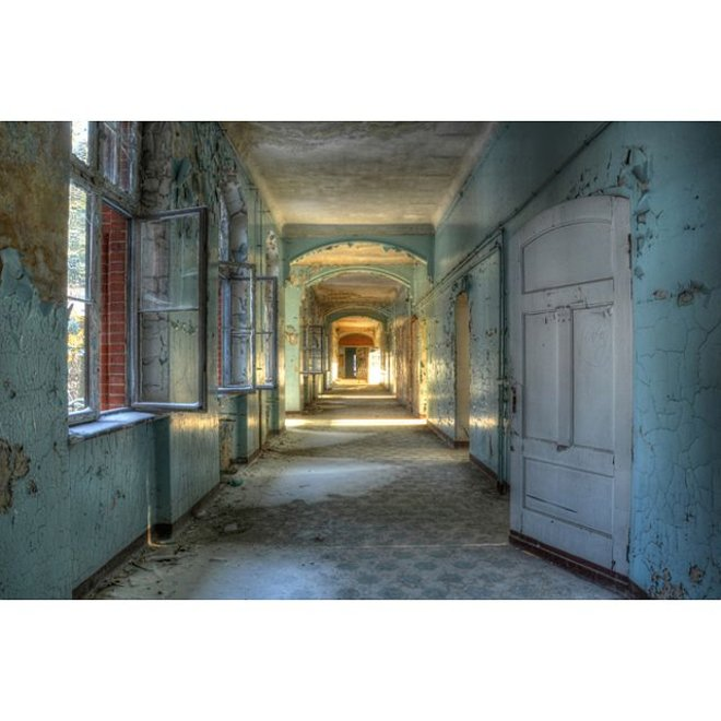 Acryl glas 'Hallway'