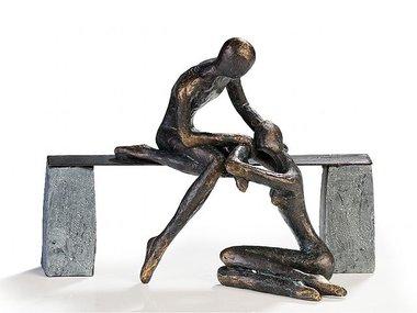 Casablanca Figuur 'Comfort' brons