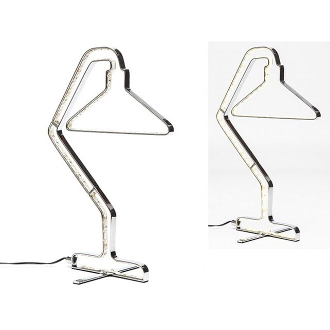 Table Lamp Silhouette Chrome LED