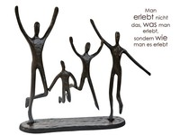 Casablanca Metal-Sculpture 'Jumping'