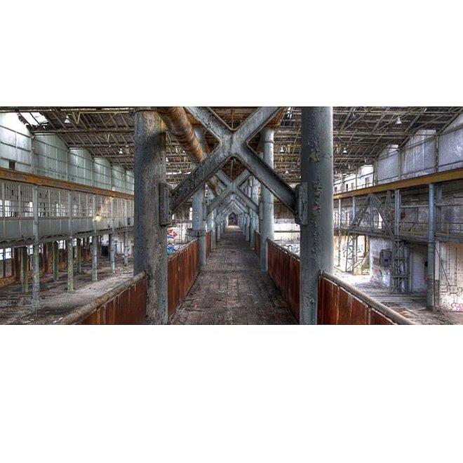 Acryl glas 'Industry' 66x140