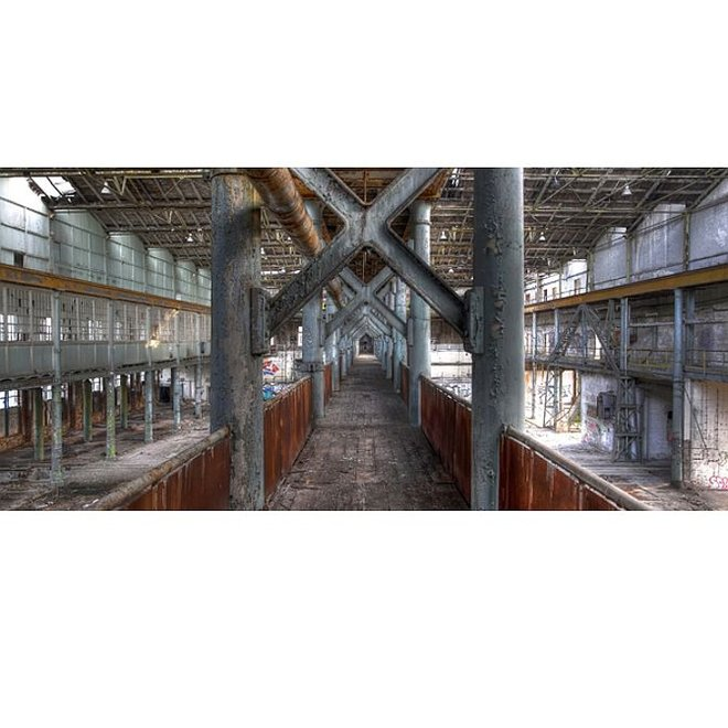 Acryl glas 'Industry'