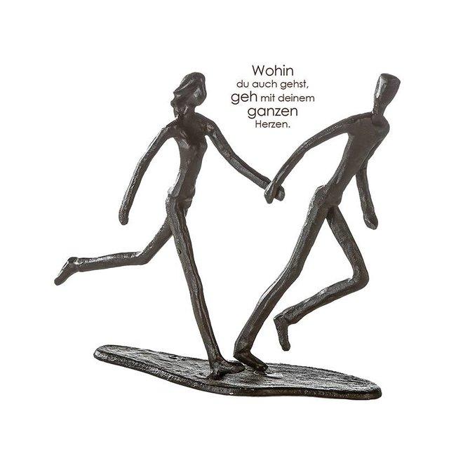 Metal-Sculpture 'Running'