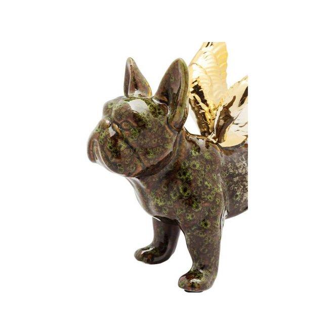 Deco Figurine Angel Wings Dog