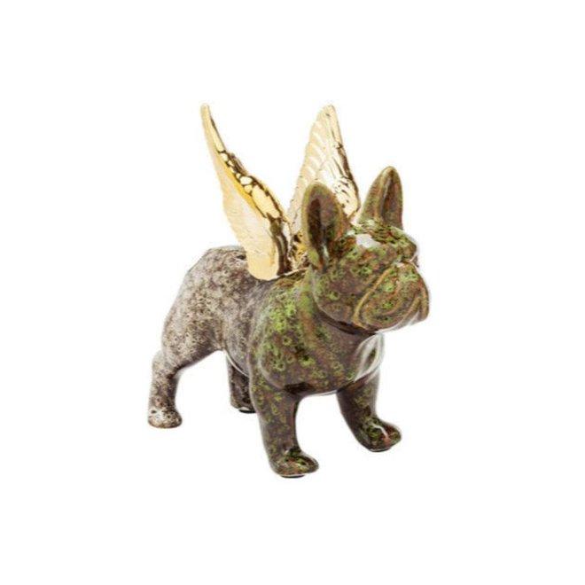 Angel Wings Dog Green