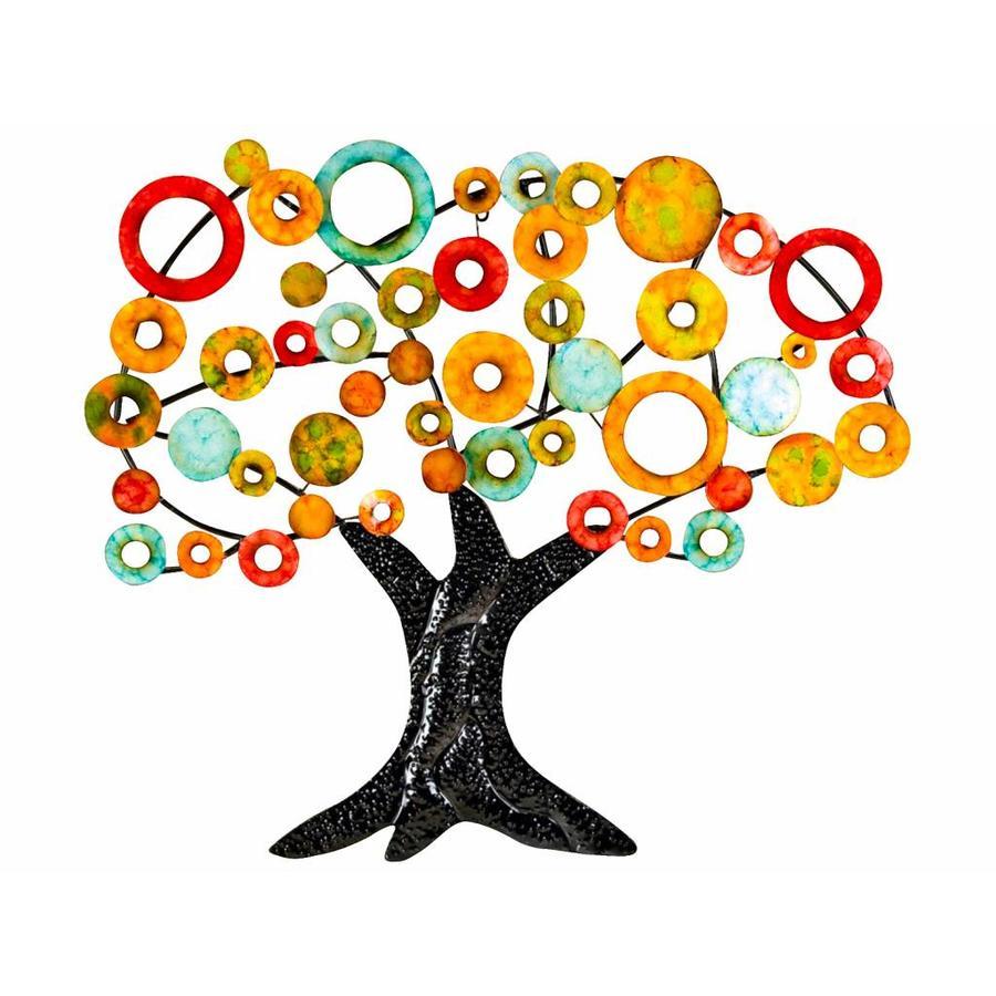 Gilde Wall Art Tree of Life, Coloured