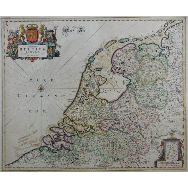 Collectie Gouldmaps - Republiek der Nederlanden; F. de Wit - Foederatae Belgicae Tabula (..) - 1670  ca. ca.