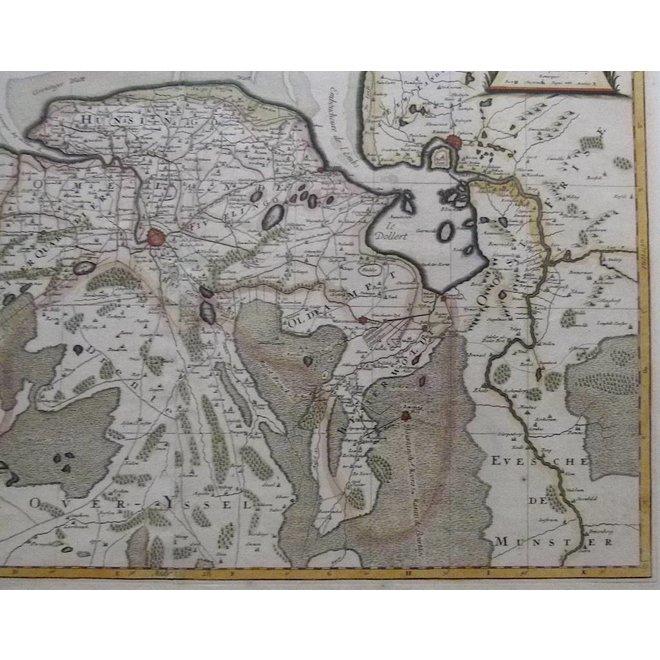 Verkocht - Groningen; H.Jaillot / P. Mortier - La Seigneurie de Groningue (..) - 1696