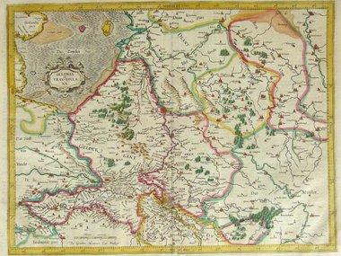 Gouldmaps Mercator G. / Hondius J. - Gelria et Transysulana - 1619