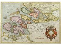 Gouldmaps G. Mercator / H. Hondius - Zelandiae Comitatus - 1633