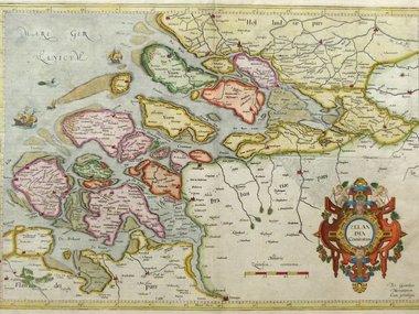 Gouldmaps Mercator G. / Hondius H. - Zelandiae Comitatus - 1633