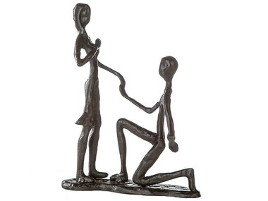 Casablanca Metal-Sculpture 'Marry Me'