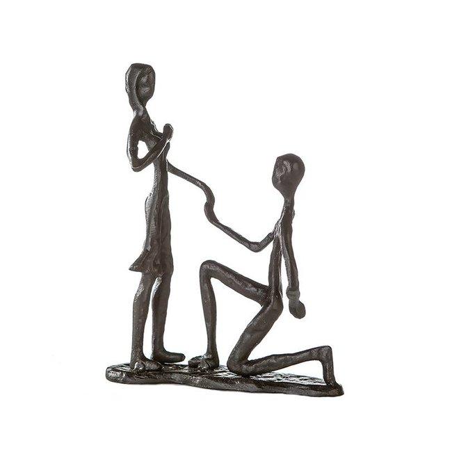 Metal-Sculpture 'Marry Me'