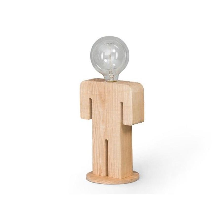 Favoriete Tafellamp Hout Man - De Toverkamer JK93