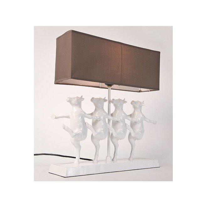 Table Lamp Dancing Cows