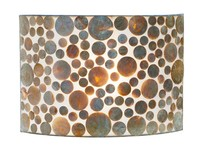 Villaflor Villaflor schelpenlamp - Coin Gold - wandlamp - Rectangle