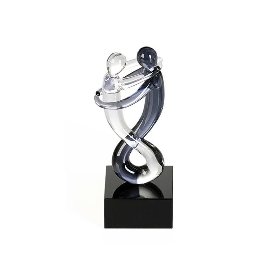 Casablanca Miniatuur Glassculptuur 'Rumba' A
