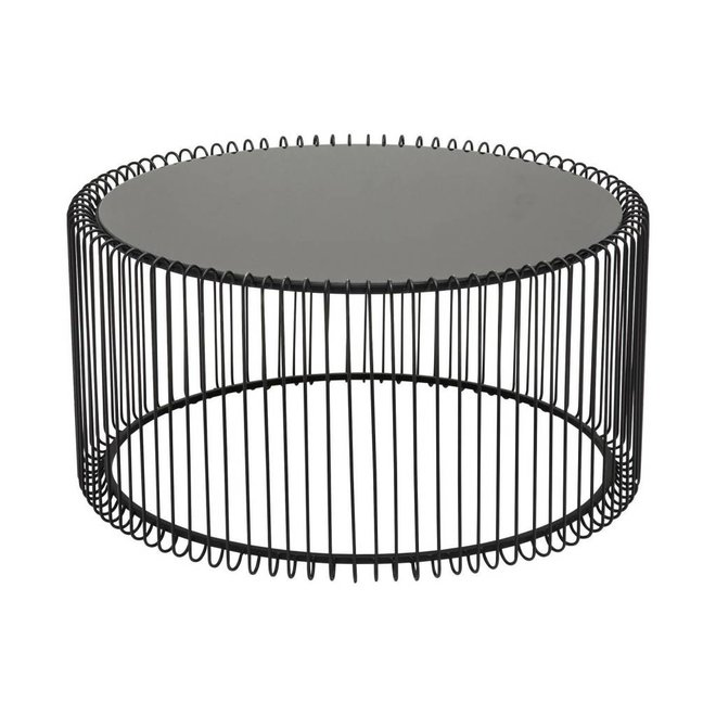 Coffee Table Wire Black S