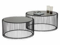 Kare Coffee Table Wire Black S