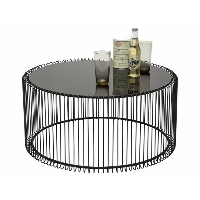 Coffee Table Wire Black XL
